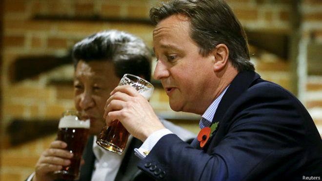 Why British beer is huge in China