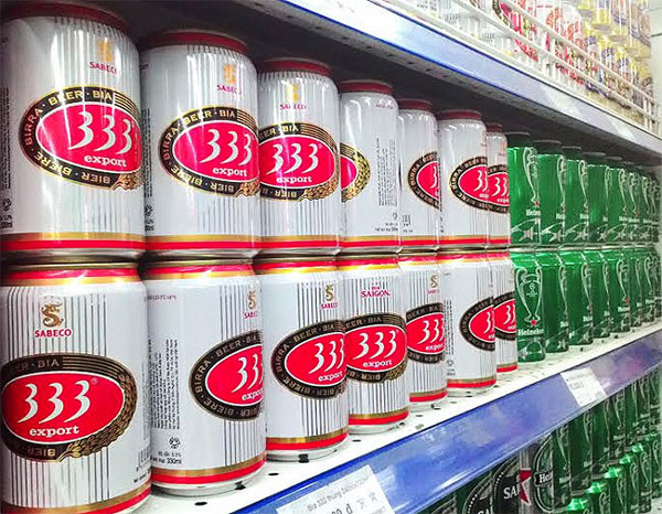 Foreign brewers strengthening foothold in Vietnamese beer market