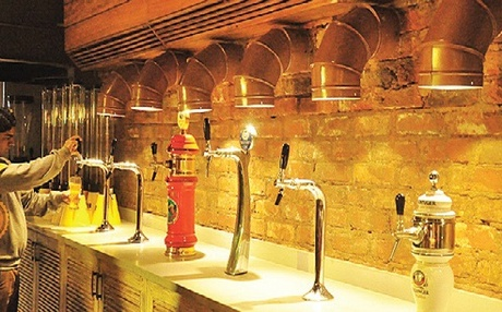 India. Beer Micro-Breweries Swimming in Red Tape