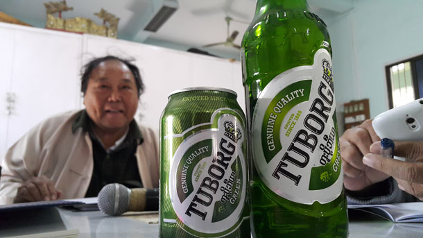 Myanmar. Trouble Brewing Over Tuborg Terminology