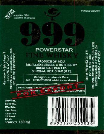 India. Inflow of cheap liquor from Goa, Andhra dispirits Karnataka