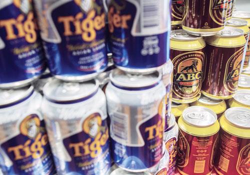 Myanmar. Heineken takes back Tiger and ABC beers