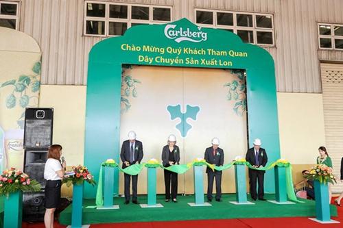 Vietnam. Carlsberg starts new line at Hue brewery