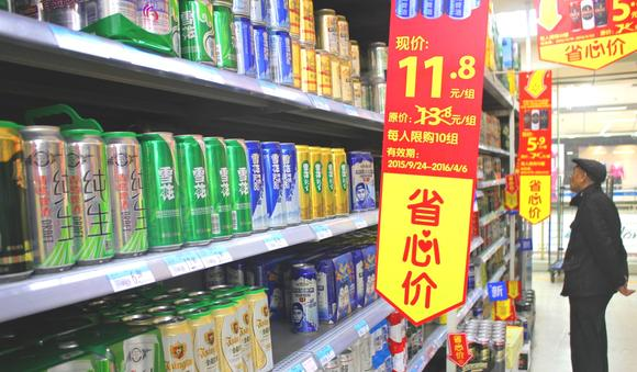 Anheuser sells more China brew despite down market