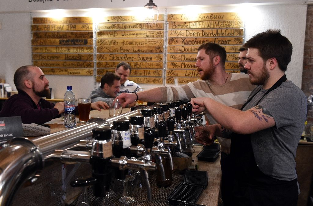 Goodbye, vodka? Russians toast craft beer revolution