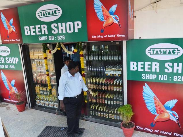 India. Tasmac beer sales get summer, election kick