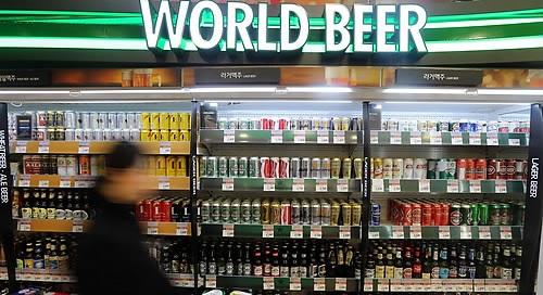 The Chinese Tsingtao tops import beer sales in Korea