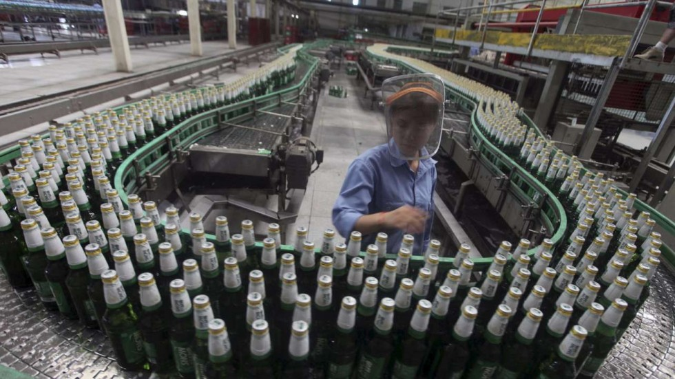 China's breweries expect short-term boost from European football championship