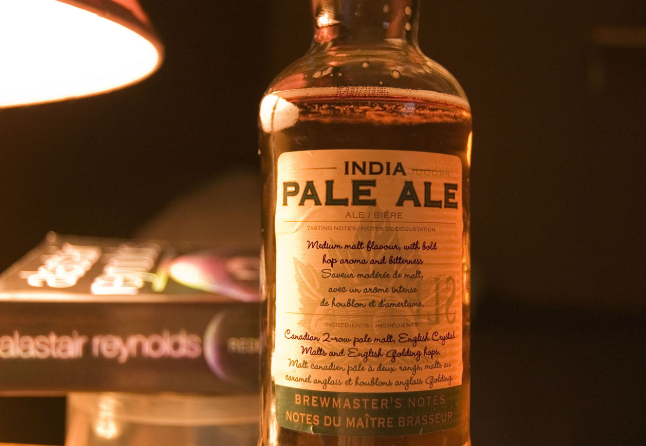 India. IPA: the beer for the British imperial arsenal?