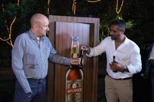 India. Witlinger Craft Beer in bottles to beat the summer heat!