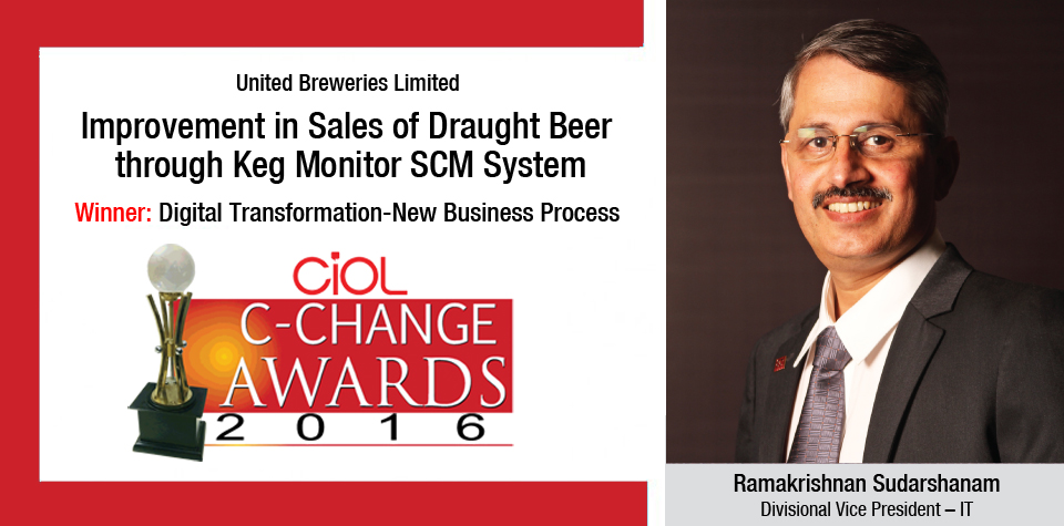 India. United Breweries Limited's: Improvement in Sales of Draught Beer through KEGMONITOR SCM System