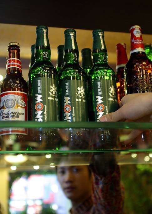 China. The fight is on, for beer and noodles
