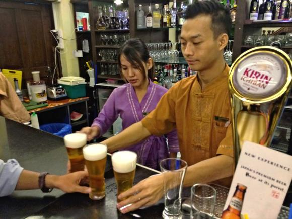 Thirsty for growth, foreign brewers pile into Myanmar