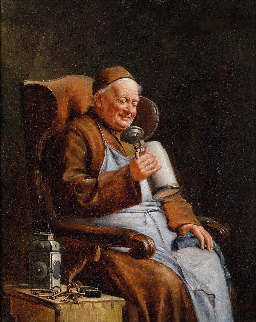 Eduard Von Gr 252 Tzner Paintings Journal Beer Daily News