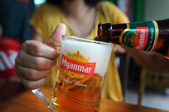 Myanmar's beer battle rages amid rumor and confusion