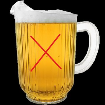 India. Govt to ban pitchers, beer to be served only in pints and mugs from Jan 1