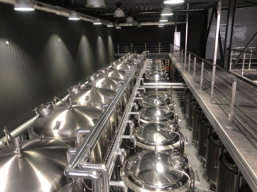 Expansion of TSIPA brewery