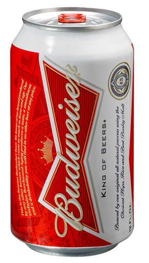 Budweiser New Label